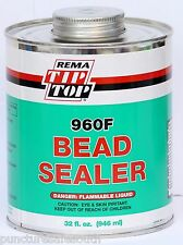 Rema Tip Top Bead Sealer 946ml 960F Can Wheels & Tyres USA Made Trucks Agri Cars