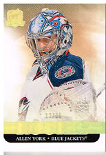 11-12 The Cup GOLD ROOKIE xx/25 Made! Allen YORK #104 - Blue Jackets Rookie