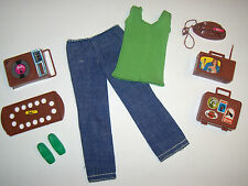 Vintage Busy Francie Doll Original Outfit Almost Complete #3313 1972