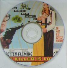 FILM NOIR: THE KILLER IS LOOSE (1956) Budd Boetticher Joe Cotten, Fleming, Corey