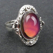 New 1 PC Mood Ring Changing Color Fashion Adjustable Temperature Control
