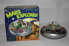 Rocket USA Plastic Mars Explorer Flying Saucer Space Ship w/Box Minty Must L@@K