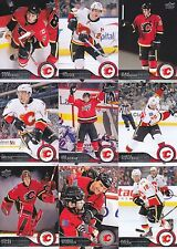 2014-15 Upper Deck Calgary Flames Complete Series 1 & 2 Team Set - 12 Cards