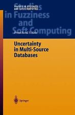 Uncertainty in Multi-Source Databases 130 by Premchand S. Nair (2010, Paperback)