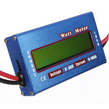 60V 100A LCD RC Watt Meter Digital Battery Balance Voltage Power Analyzer Pro