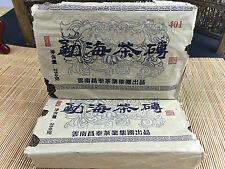 2001yr Yunnan Changtai Group Yichanghao Menghai Puerh Tea Brick/Raw/500g/2pcs