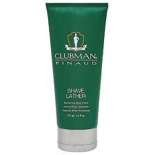 Clubman Pinaud Shave Lather Moisurizing Shave Cream 6 oz (Pack of 5)