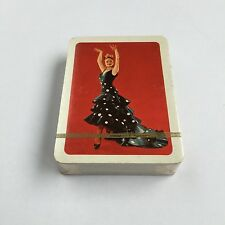 Vintage Spanish Dancer Naipes Comas Sealed and Unused Spanish Deck Playing Cards