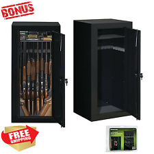 "Stack 22 Gun 54"" Long Safe Security Lock Home Wall Steel Storage Box Cabinet"