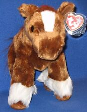 TY HOOFER the CLYDESDALE HORSE BEANIE BUDDY -  MINT with MINT TAG