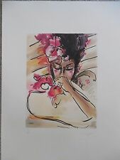 "Peter Max ""Suzin"" 1981 Hand Signed & Numbered Serigraph WOW !!!!!"