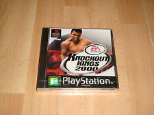 KNOCKOUT KINGS 2000 CON MUHAMMAD ALI PARA LA SONY PS1 NUEVO PRECINTADO