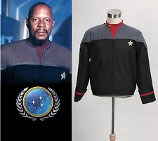 Star Trek Nemesis Voyager Captain Sisko Uniform Jacket Costume *Tailored*