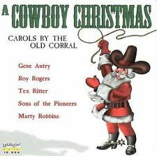 Various Artists A Cowboy Christmas: Carols By The Old Co CD