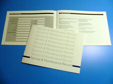 VW VOLKSWAGEN Commercials Service Book New Unstamped History Maintenance Record