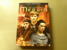 4-DISC DVD BOX / THE ADVENTURES OF MERLIN - SERIE 3