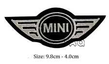 Mini Cooper logo racing biker car embroidered iron on patch badge motor # M03