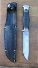 BSA BOY SCOUT REMINGTON Fixed Blade Sheath Knife RH-51 #1561 1933-1939
