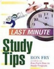 Ron Fry - Last Minute Study Tips (2011) - Used - Trade Paper (Paperback)