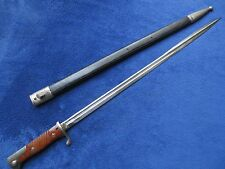 RARE ORIGINAL GERMAN WW1 BAYONET AND SCABBARD MAKER HORSTER SOLINGEN