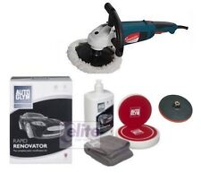 Silverline Professional Rotary Polisher - Autoglym Rapid Renovator Polishing Kit