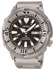 Seiko SRP637 Prospex Automatic Diver Black Dial Stainless Steel Mens Watch