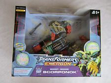 Transformers Voyager Energon Scorponok Comic Book & Collector Card Included MISB