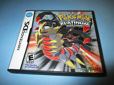 Pokemon Platinum Version (Nintendo DS) Lite DSi XL 3DS 2DS w/Case & Manual