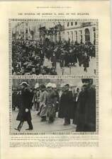 1910 Funeral Of Leopold Ii King Of The Belgians