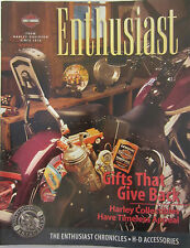 Harley-Davidson Enthusiast Magazine Winter 1996 Gifts that give back Collectable