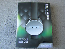 SOL REPUBLIC Tracks HD V10 On-Ear Headphones w/ Inline Mic/Music Control (Black)