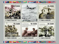 St Thomas - 2010 Korean War, MacArthur - 5 Stamp  Sheet - ST10505a