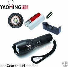 3800Lm CREE focus adjustable outdoor camping 5 modes led flashlight torch v2