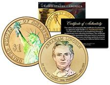 ABRAHAM LINCOLN 2010 Presidential $1 Dollar US Coin HOLOGRAM Both Sides