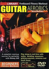 Lick Library GUITAR AEROBICS Fretboard Fitness Workout for Beginners Video DVD