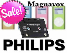 Magnavox Philips NEW iPod Cassette Adapter BEST on EBAY! Great w iPhone!  M62050