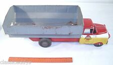 MARX LUMAR CONTRACTORS LM-2314 LARGE FREIGHT HOPPER TRUCK PRESSED STEEL TOY