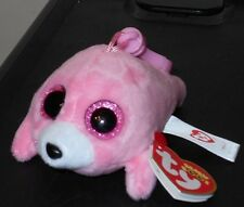 Ty Beanie Boo's Key Clip ~ PIERRE the Pink Seal ~ 2016 NEW ~ IN HAND