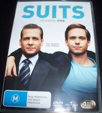 Suits Season Series One 1 (Australia Region 4) DVD - Like New