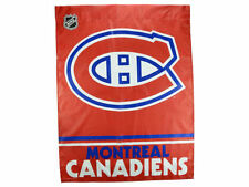 "Montreal CANADIENS vertical banner flag by Wincraft 27"" by 37"" New in Package!"