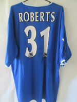 Jason Roberts Portsmouth Match Worn Home 2003-04 Football Shirt with COA /11102
