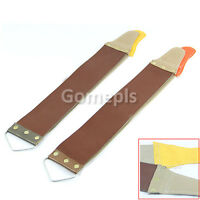 Leather Sharpening Canvas Strop for Barber Open Straight Razor Sharpening Shave