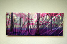 Abstract Metal Wall Art- Contemporary Modern Decor Original Cherry Blossom