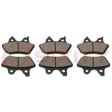 Front + Rear Ceramic Brake Pads 2000-2006 Harley Davidson FLHRI Road King en