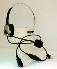 MONAURAL CALL CENTER HEADSETS FOR PANASONIC KX-TDA 2.5mm + DECT