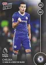 TOPPS NOW! 22 Premier League 2016/2017 - Chelsea 12 wins /98 Football 16/17
