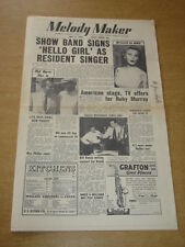 MELODY MAKER 1955 JULY 9 BBC SHOW BAND RUBY MURRAY LITA ROZA BILL RUSSO +