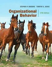 ORGANIZATIONAL BEHAVIOR - NEW HARDCOVER BOOK