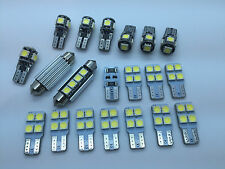 BMW X5 E70 X6 E71 E72 FULL LED Interior Lights 20 pcs SMD Bulbs White Error Free