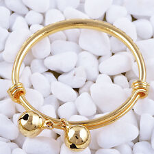 Statement Charm Gold Filled Baby bracelet adjustable bangle charms bracelet